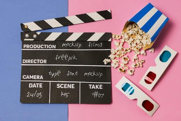 Makieta aranżacji płaskiego kina