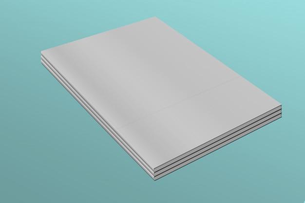Makieta arkusza papieru formatu a4