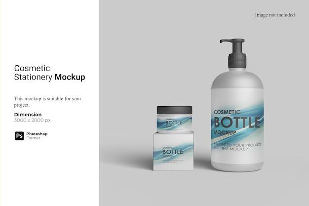 Makieta artykułów kosmetycznych