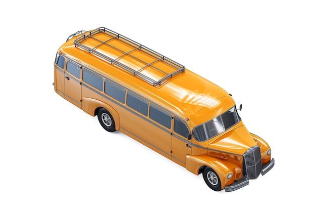 Makieta autobusu szkolnego 1947