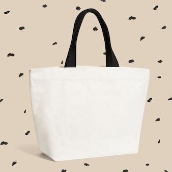 Makieta beżowej torby na ramię psd