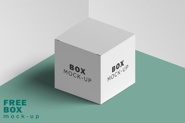 Makieta białego pudełka