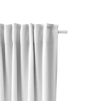 Makieta biały kurtyna