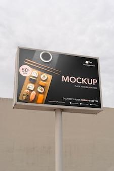 Makieta billboardów w miami