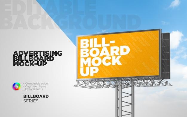 Makieta billboardu reklamowego