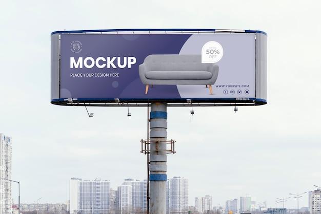 Makieta Billboardu Ulicznego Darmowe Psd