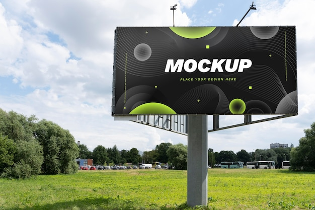 Makieta billboardu w marketingu ulicznym