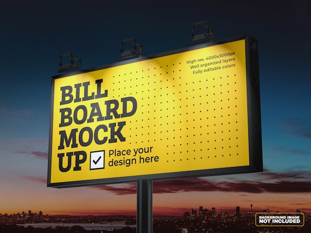 Makieta billboardu