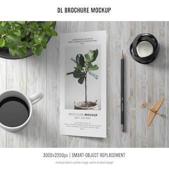 Makieta broszurowa portretowa dl