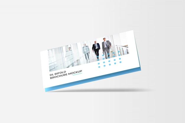 Makieta broszury bi-fold