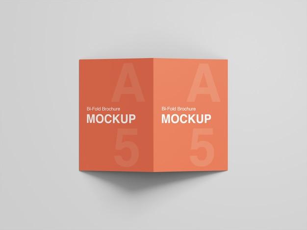 Makieta broszury bifold a5