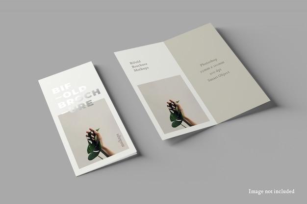Makieta broszury bifold dl