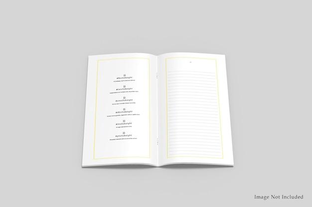 Makieta broszury dl bifold