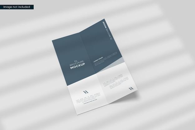 Makieta broszury dl