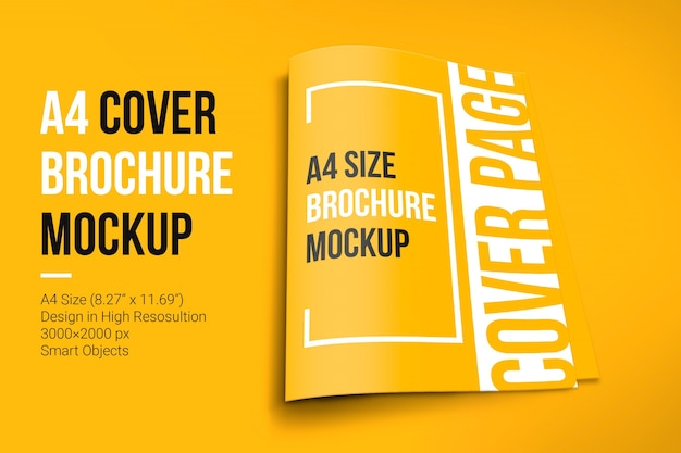 Makieta broszury okładki a4