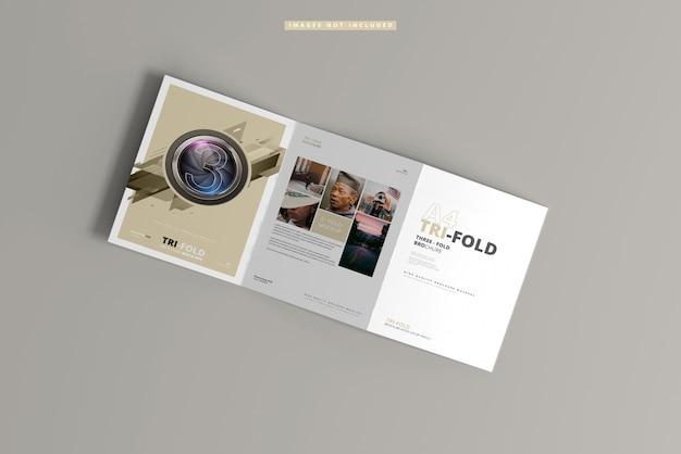 Makieta broszury składanej a4