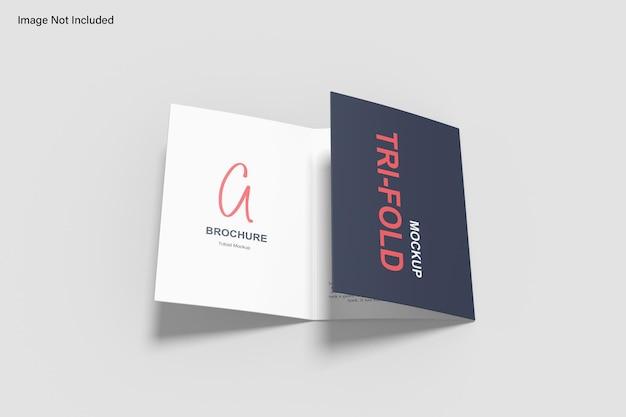 Makieta broszury składanej a5