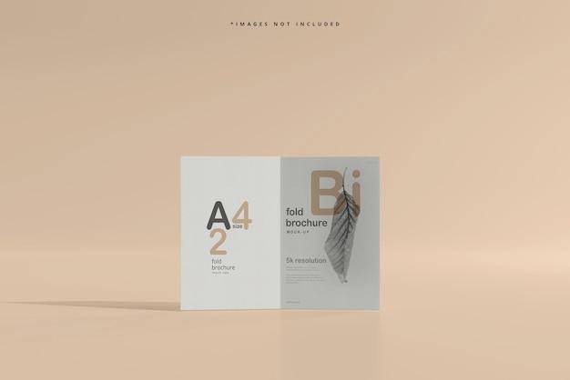 Makieta broszury składanej w formacie a4