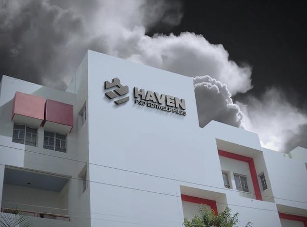 Makieta budynku logo 3d