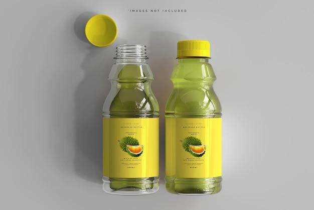 Makieta butelek na napoje