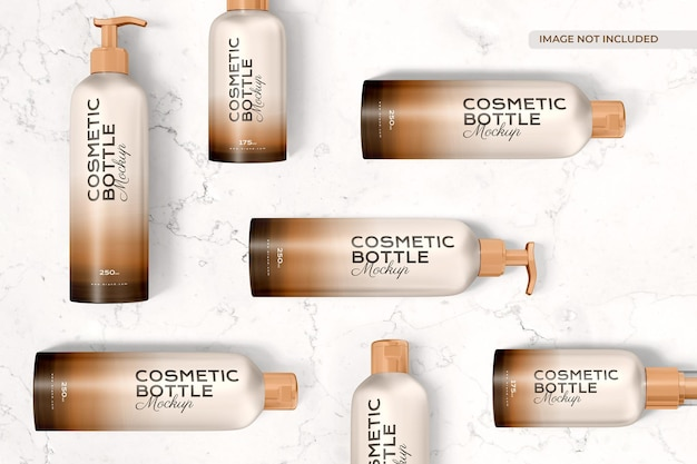 Makieta butelki kosmetycznej