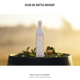 Makieta butelki olve olve