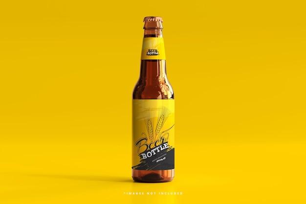 Makieta butelki piwa