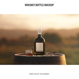 Makieta butelki whisky