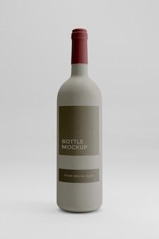 Makieta butelki wina