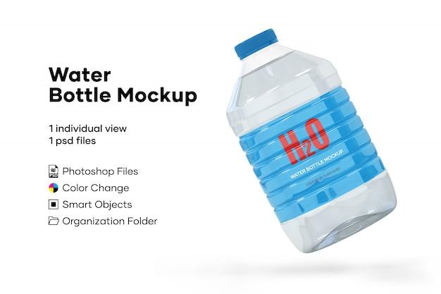 Makieta butelki wody
