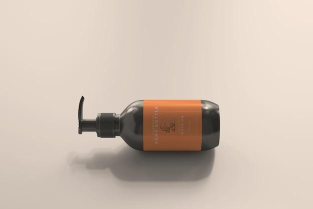 Makieta butelki z rozpylaczem kosmetycznym