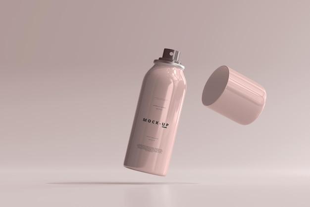 Makieta butelki z rozpylaczem