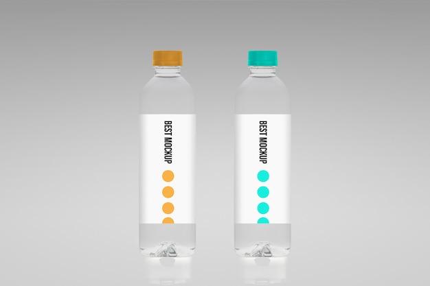 Makieta butelki z wodą
