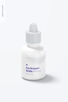 Makieta butelki z zakraplaczem do oczu