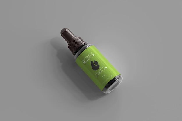 Makieta butelki z zakraplaczem