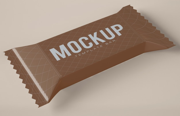 Makieta chocolate snack bar