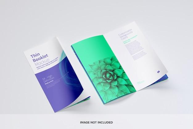 Makieta cienkiej broszury