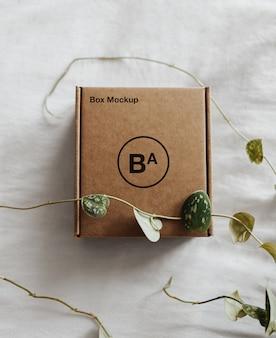 Makieta craft paper box