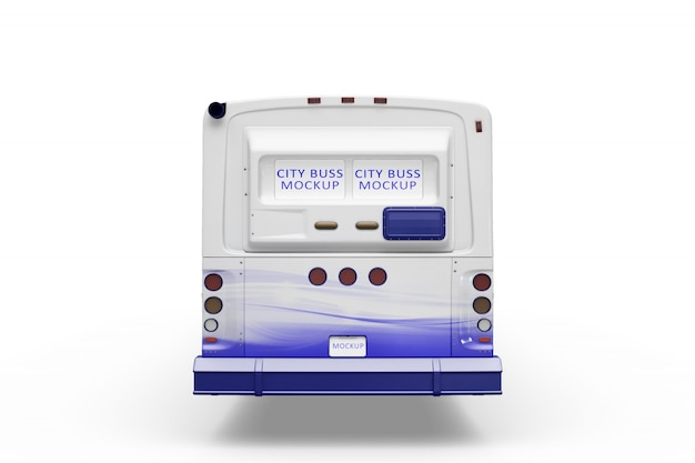 Makieta creative bus