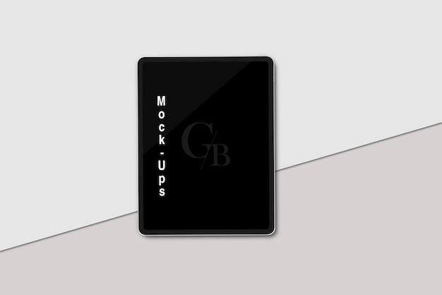 Makieta cyfrowego tabletu