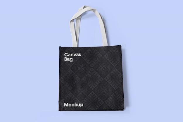 Makieta czarnej torby