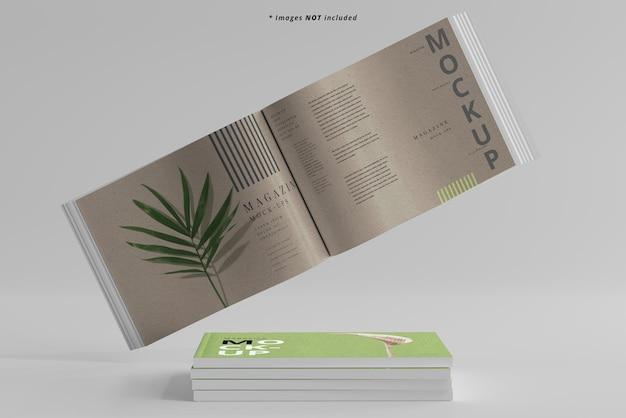 Makieta czasopism krajobrazowych