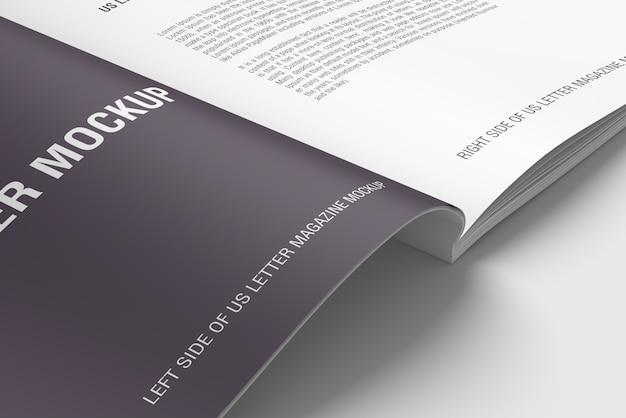 Makieta czasopisma lub książki