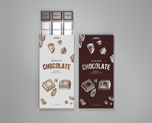 Makieta czekolady