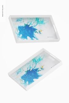Makieta dekoracyjna taca, pływająca