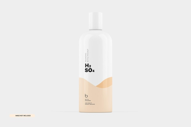 Makieta do pakowania butelek szamponu