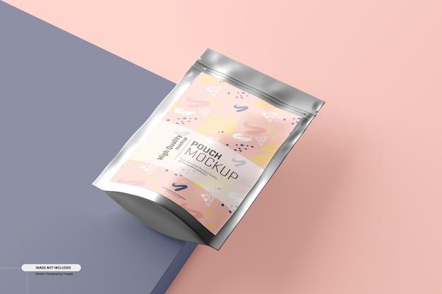 Makieta do pakowania w torebki z suplementami diety
