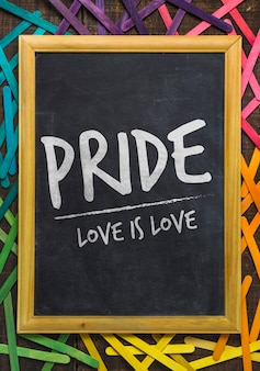 Makieta dumy gejowskiej tablicy
