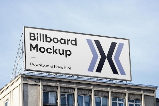 Makieta dużego billboardu
