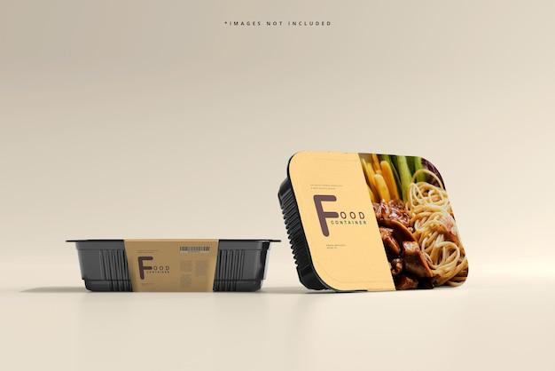 Makieta dużego pojemnika na żywność